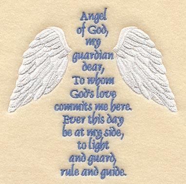 angel of god my guardian dear i create great keepsake