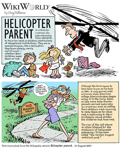 Week 36: Helicopter Parent | by WilliamsProjects