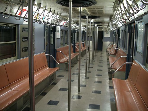 Vintage 1960's-era subway car | by rutlo