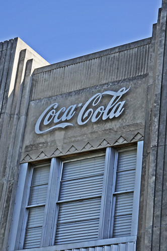 photos art deco coca cola plant posted via email from bra flickr. Black Bedroom Furniture Sets. Home Design Ideas