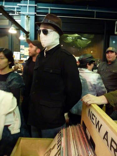 Charles Burns at Fantagraphics Bookstore & Gallery, Oct. 30, 2010 - costumed fan | by fantagraphics