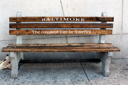 baltimore-bench | by ricekrysbee