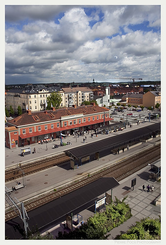 Eskilstuna Train Station | by Pierre Pocs
