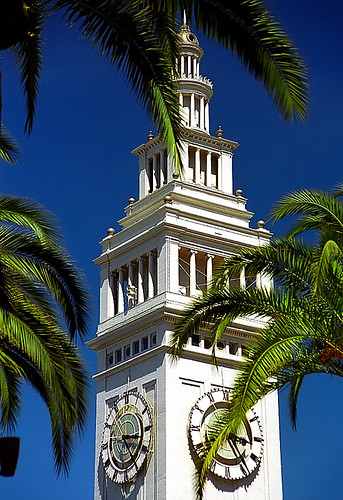 San Francisco - Ferry Terminal Building & Palm Trees | by David Paul Ohmer