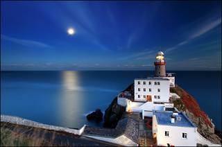 Moonrise - Baily Lighthouse - Dublin | by angus clyne