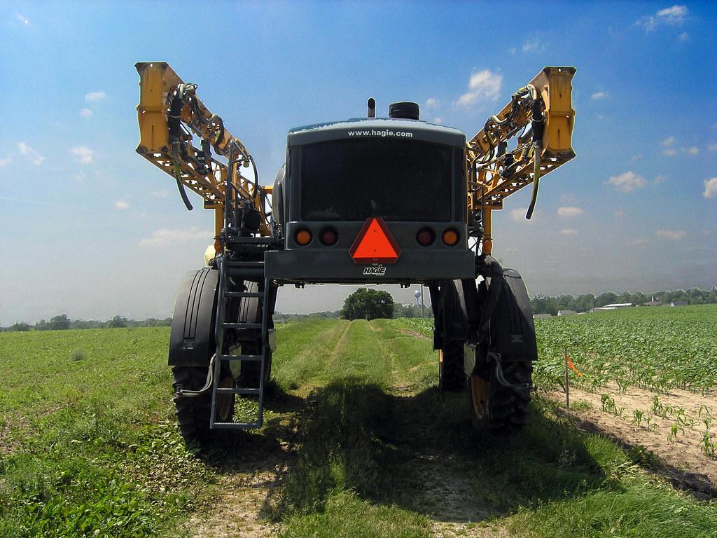 braun farm equipment weird farm equipment built by hagie flickr