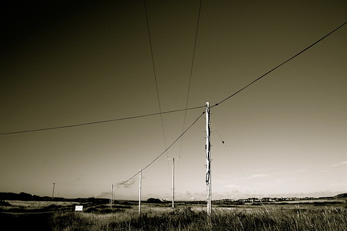 Telegraph poles | by Chris Bertram