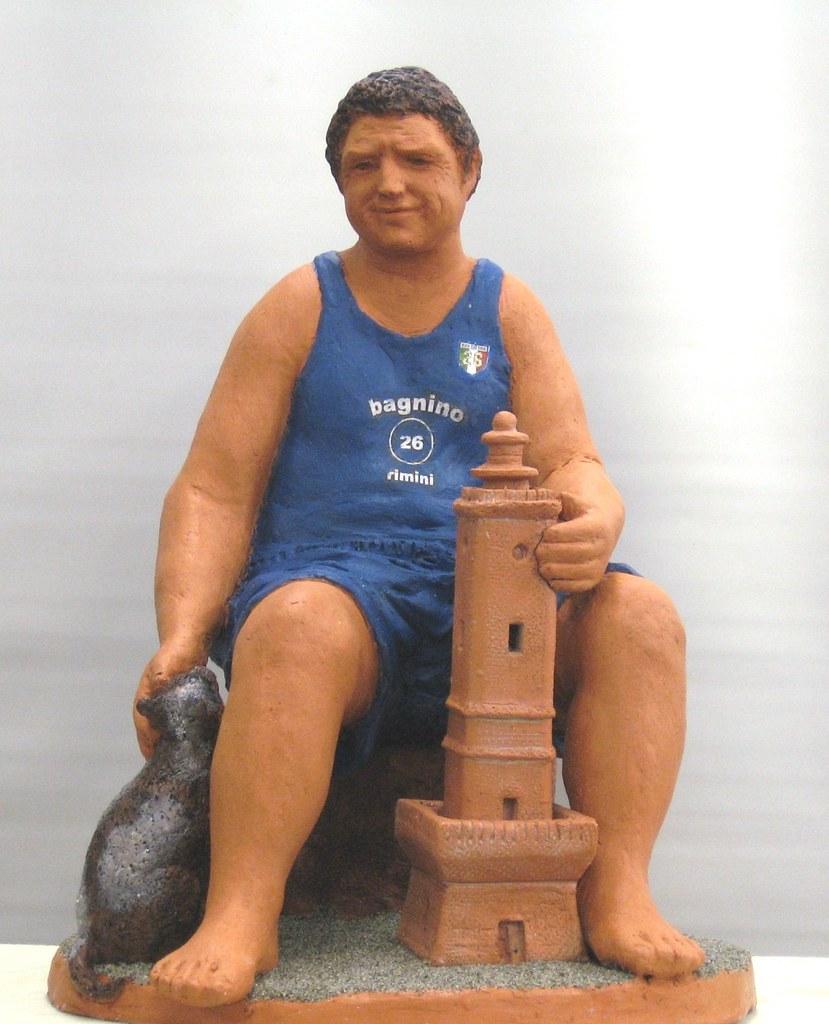 personaggio per un presepio.....il bagnino Gabriele (bagno…   Flickr