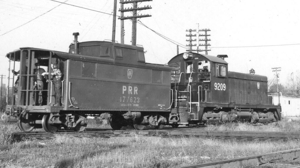 PRR 9209 (6768 4-49) 1967 | PRR SW-1 9209 (6768 4-49) @Terre