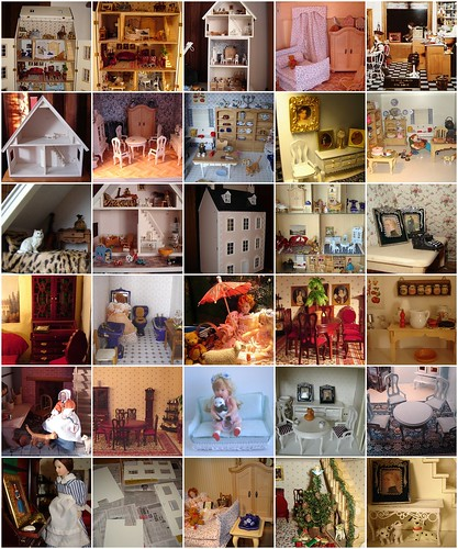 My dollshouses mosaique | by Anna Amnell