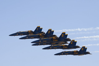 Blue Angels Delta Formation | by Angad Singh | Zone 5 Aviation