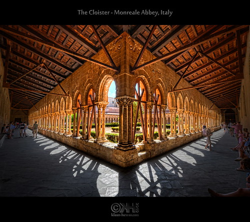 The Cloister - Monreale Abbey, Italy (HDR) [Explored] | by farbspiel