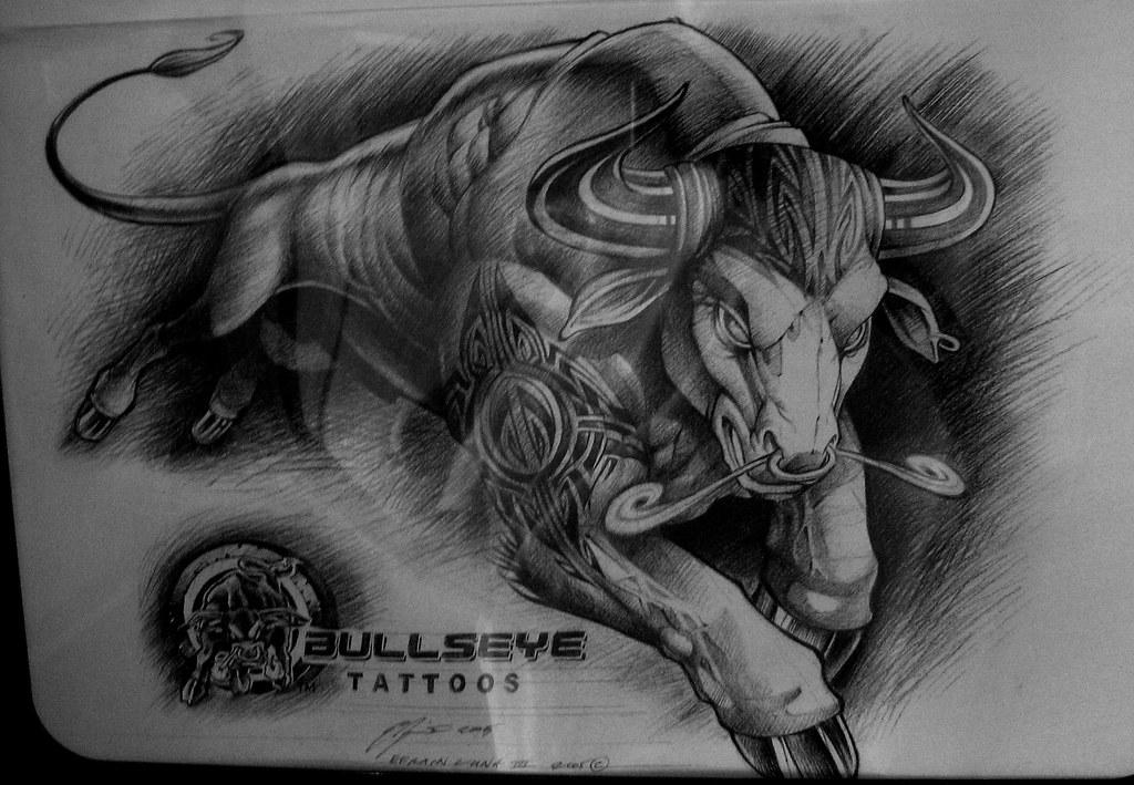 bull tattoo idea by fox_metro bull tattoo idea by fox_metro