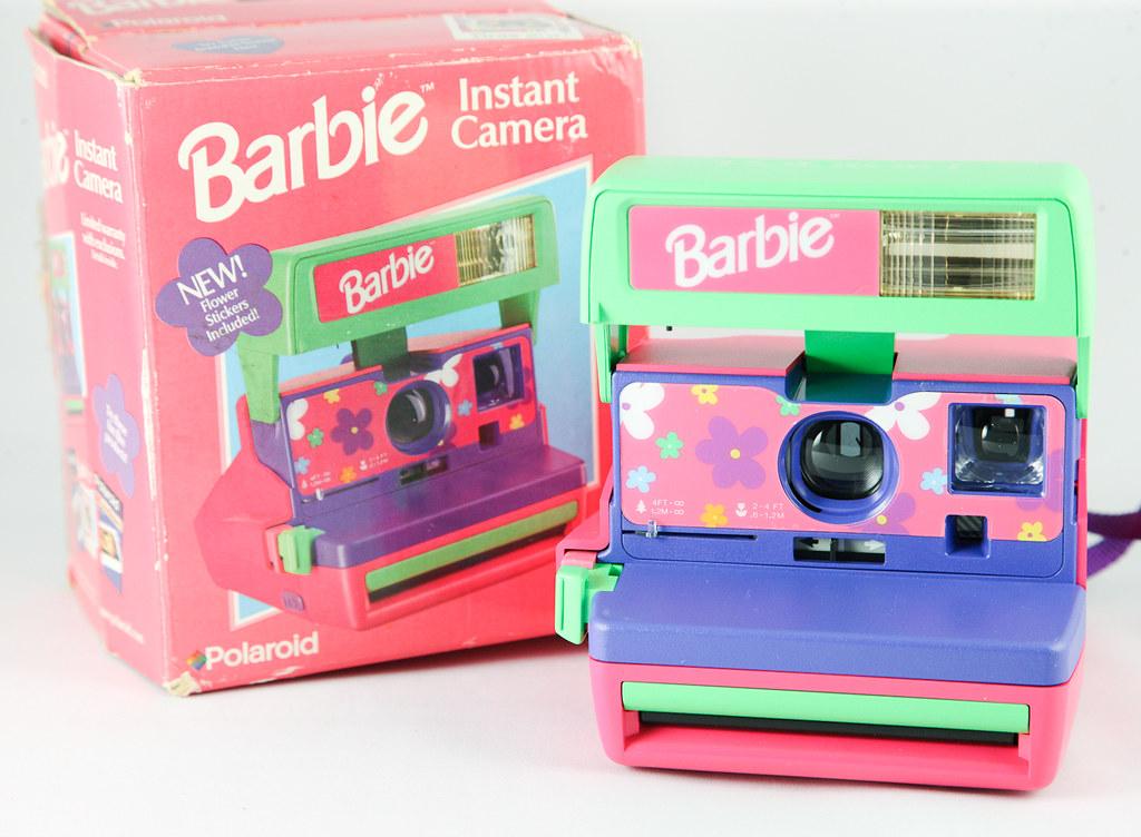 barbie polaroid