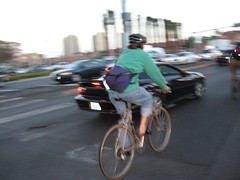 Cyclists taking the lane in Vegas | by Richard Masoner / Cyclelicious