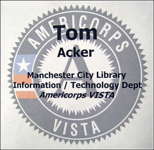 Americorps Vista Volunteer | by Manchester Library