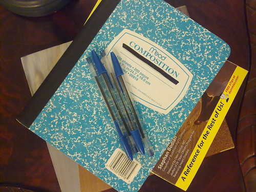 Tools Of The Trade - Preparing for the Sanibel Writers Conference | by The Single Rider