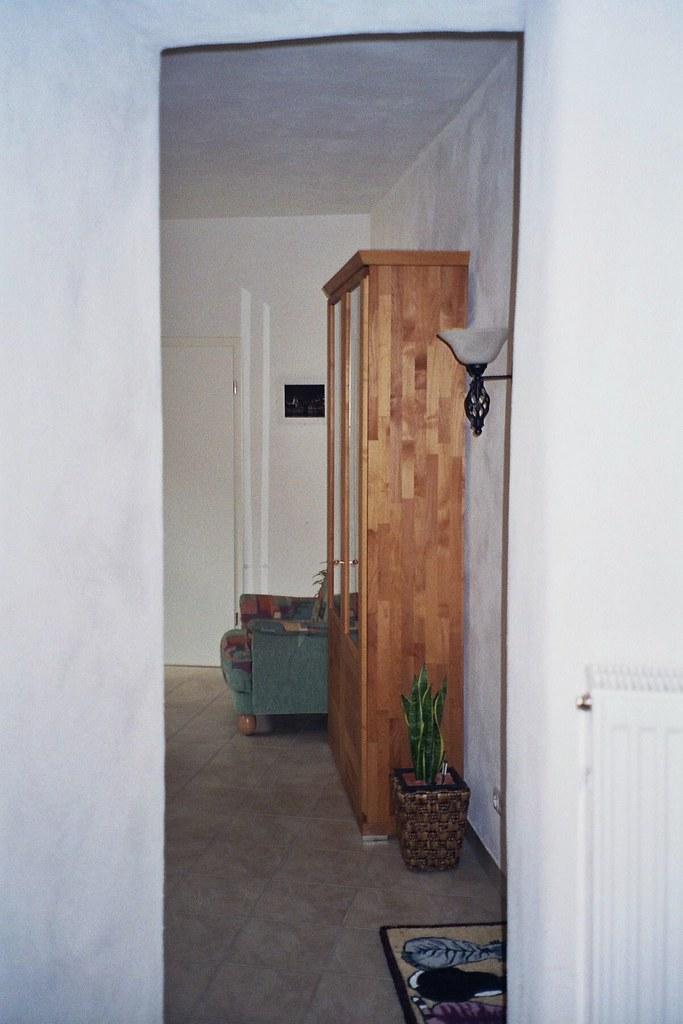 Blick Aus Der Kuche Durchbruch Ins Esszimmer Anbau Flickr