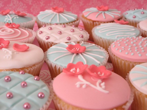 cherry blossom cupcakes 059 | by hello naomi