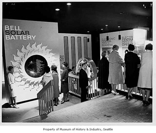 Bell System exhibit, Seattle World's Fair, 1962 | by IMLS DCC