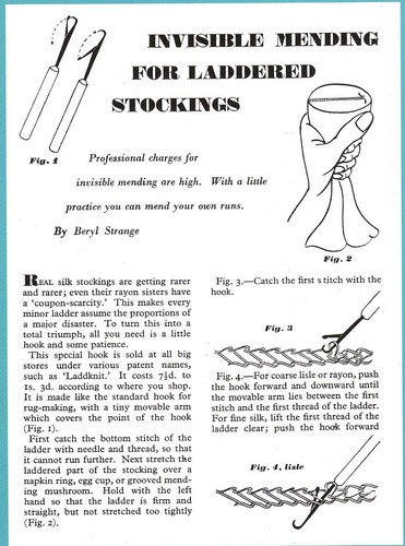 darning stockings | by Jo Hedwig Teeuwisse