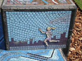 Mosaic at Grant Park, Chicago | by hanneorla