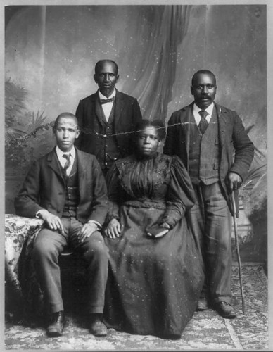 African American Group Portraits Officers Of Tobacco