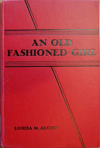 Old Fashioned Book Covers : Book cover of an old fashioned girl