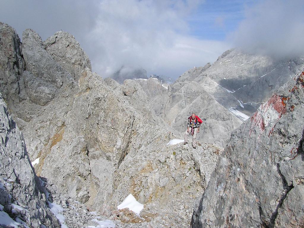 Klettersteig Ramsau : Ramsauer klettersteig der versicherte klettersteiu2026 flickr