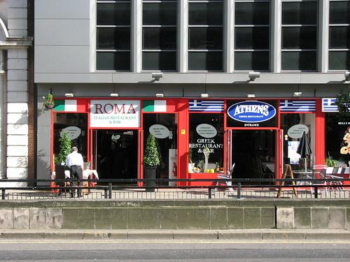 English Restaurants Near By W Ns