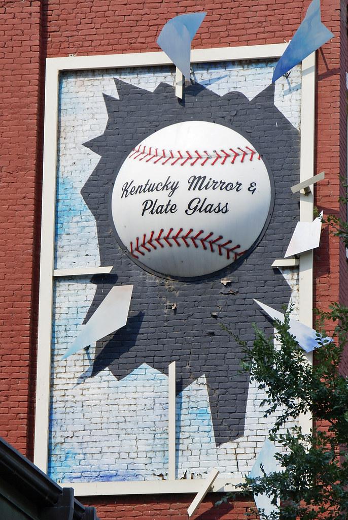Louisville Broken Window Sign On The Wall Of The Kentucky Flickr