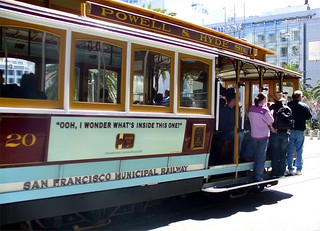 Cable Car Passing By, San Francisco, California | by Scandblue