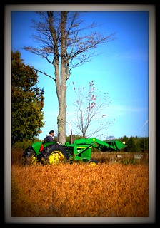Rusty and the Deere | by BevKnits