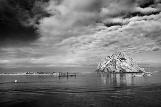 Morro Rock in B&W | by britta heise