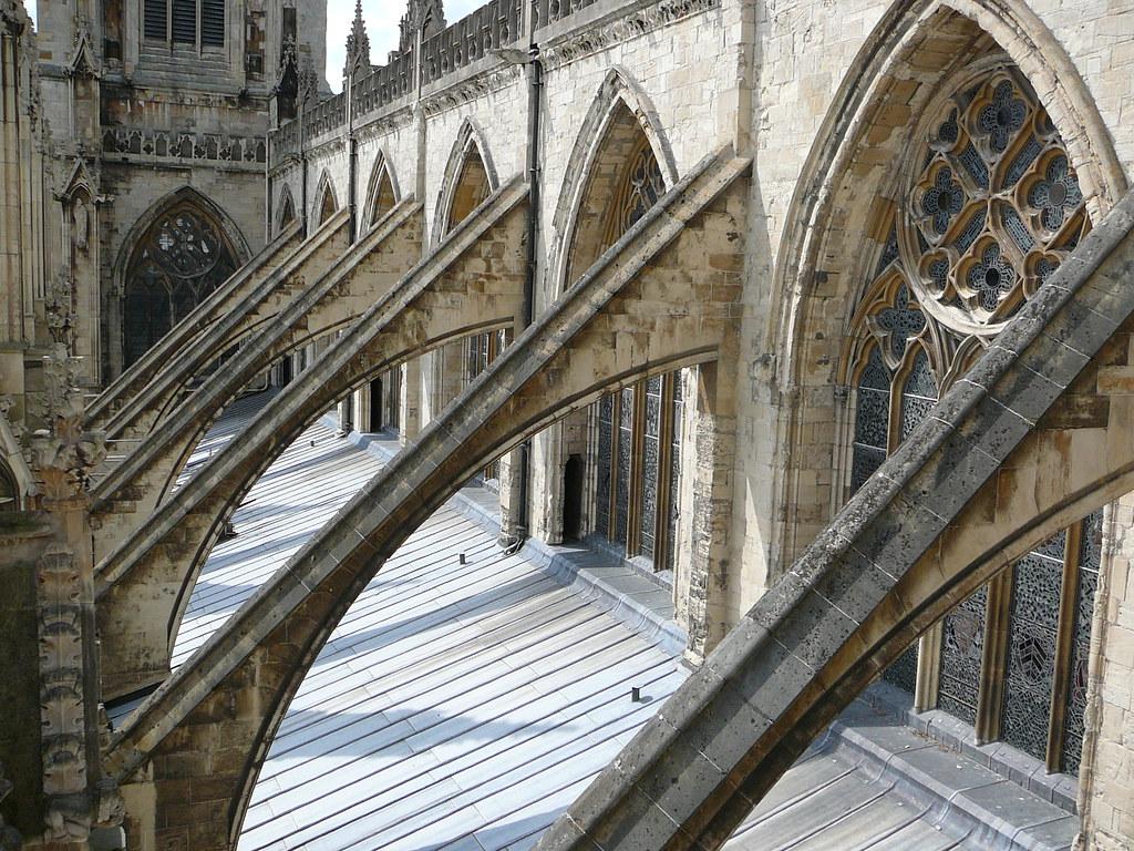 York Minster Flying Buttresses