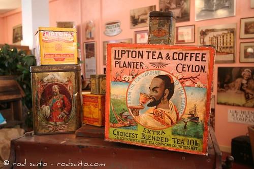 Bramah Tea And Coffee Museum In London