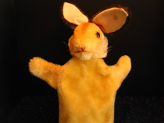 My Steiff Bunny Puppet | by The Dolly Mama