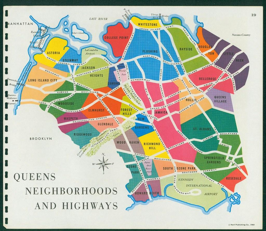Map Of Queens Neighborhoods | compressportnederland Queens Neighborhood Map on