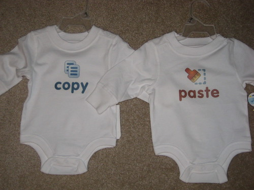 Copy/Paste Baby Shirts for Identical Twins | by adam.coulombe