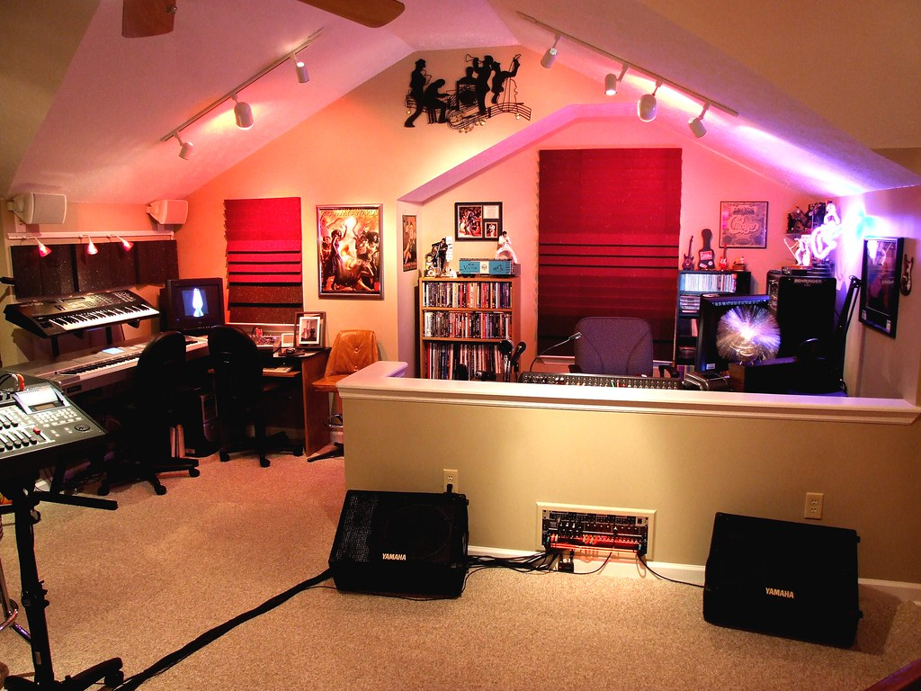 Miraculous Home Recording Studio The Studio Copperline Flickr Largest Home Design Picture Inspirations Pitcheantrous