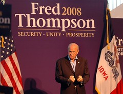Fred Thompson onstage | by freddthompson