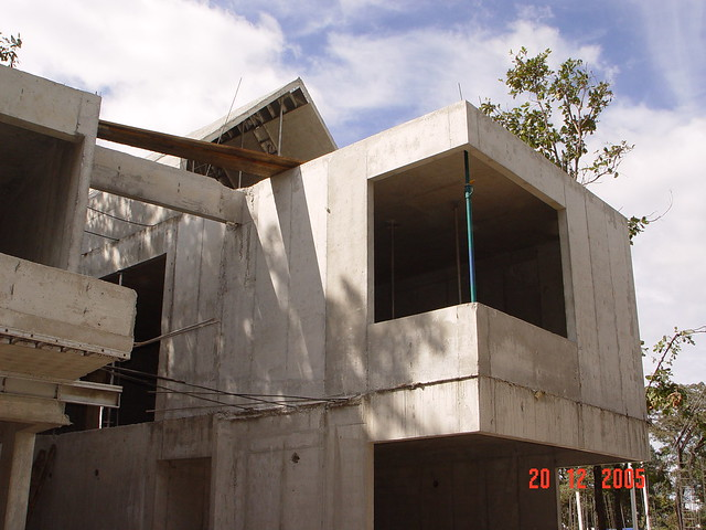 Concrete Home Construction In Guatemala Rapid