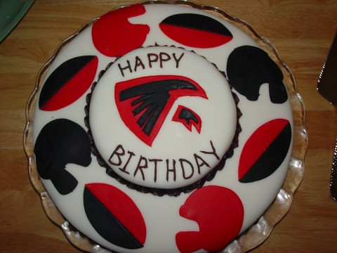 Atlanta Falcons Cake