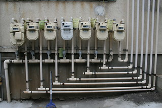 gas meters and pipes | by ivva