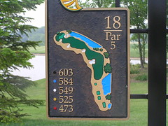 18th Hole, Atunyote Golf Course, Turning Stone Resort, Verona, New York | by danperry.com