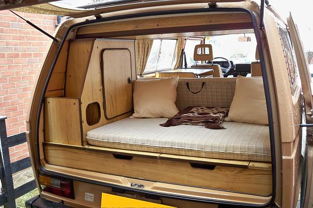 VW T25 Reimo Camper Van 1987 Interior 2