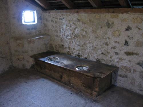 Chateau De Chillon Switzerland 13th Century Latrines Flickr