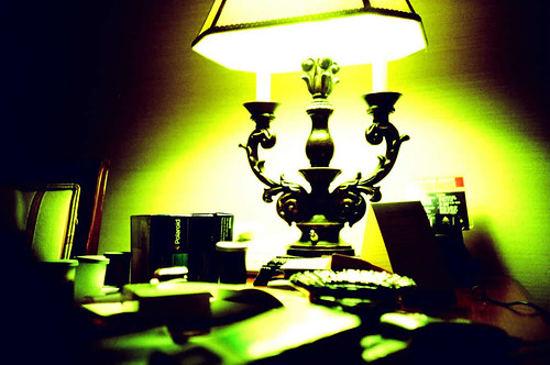 lomo + lamp + polaroid type 89 boxes | by holgabot*