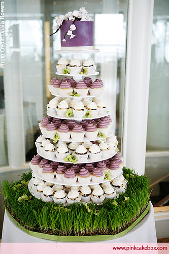 wedding cake clichy cupcake tower this wedding cupcake tower was one of our 22208