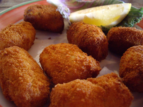 Columbia Restaurant Chicken and Crab Croquettes | by swampkitty